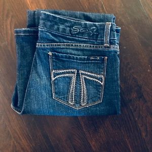 Seven Jeans Dark Denim Bootcut